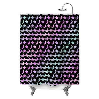 Celestial Pastels Shower Curtain