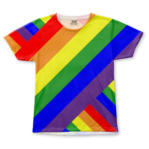 Pride Rainbow All-Over T-Shirt