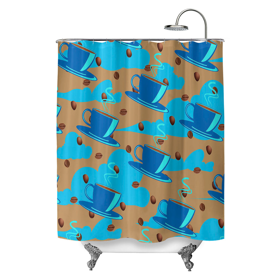 Coffee Heaven Shower Curtain