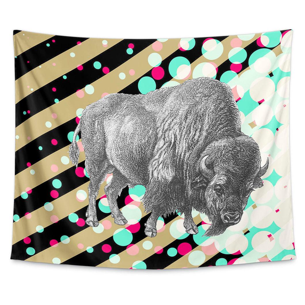 Buffs Black and Gold Wall Tapestry