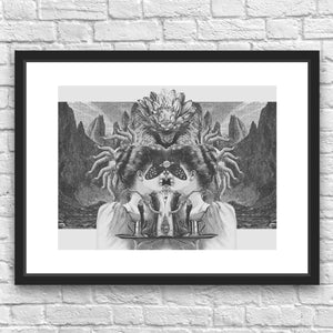 Ishtar by Julius Garrido Framed Art Print