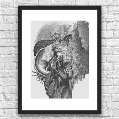 Prophetess by Julius Garrido Framed Art Print