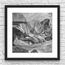 Visitation by Julius Garrido Framed Art Print