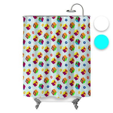 Arcade Classic Shower Curtain