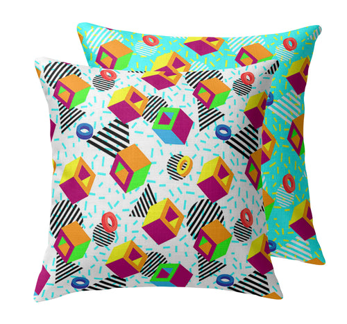 Arcade Classic Throw Pillow