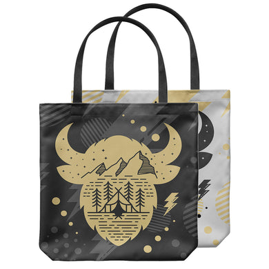 Buffs Flatirons Black and Gold Tote Bag