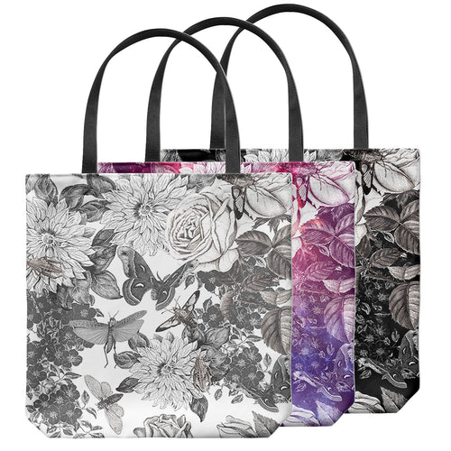 Butterflowers Tote Bag