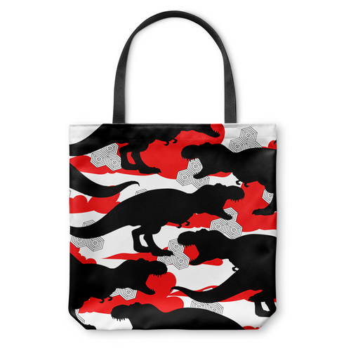 Cloud T. Rex Tote Bag