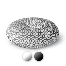 Cubes Round Floor Pillow