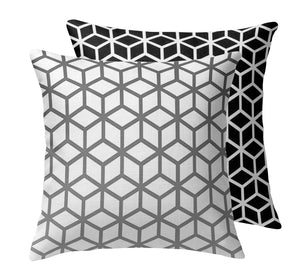 Cubes Throw Pillow