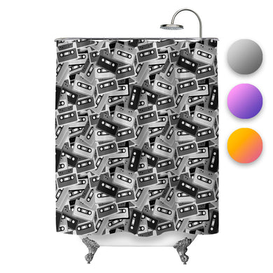 Mixtapes Shower Curtain