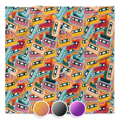 Mixtapes Throw Blanket