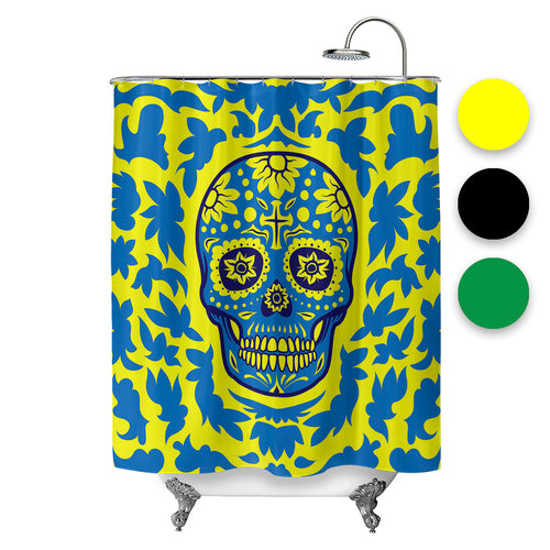 Dia De Muertos Shower Curtain