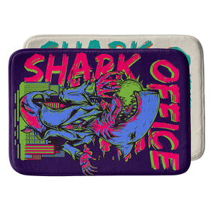 Office Shark Bath Mat