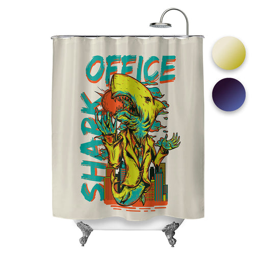 Office Shark Shower Curtain