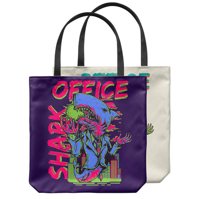 Office Shark Tote Bag