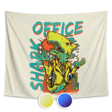 Office Shark Wall Tapestry