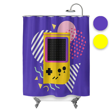 Pocket Gamer Shower Curtain
