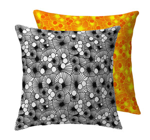 Under the Shrooms Throw Pillow