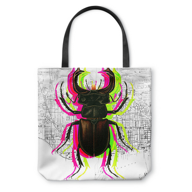 Trippy Bug Tote Bag