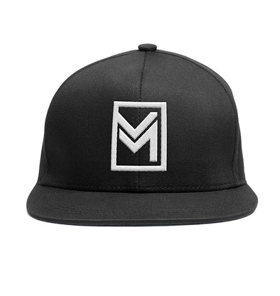 MTHD Raised Snapback Black
