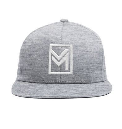 MTHD Raised Snapback Heather Grey