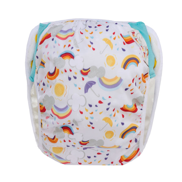 GroVia Swim Rainbow Baby