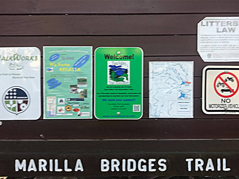 Marilla Springs Trail - Marilla Bridge Trail Review