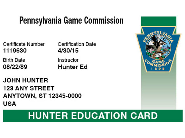 Official Pennsylvania Hunter Safety Course Online & Local