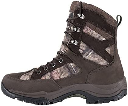 Browning Mens Buck Pursuit 8in Oxford Hunting Boots - 400g, Bracken/Mossy Oak F000005620232