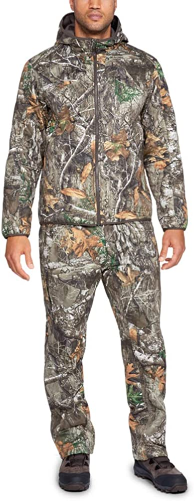Under Armour Men's Brow Tine Pants, Realtree Edge Frame Frame, X-Large