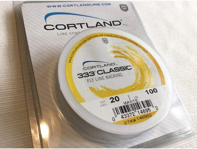 Cortland | 333 Classic Fly Line Backing (20lbs, 100yds)
