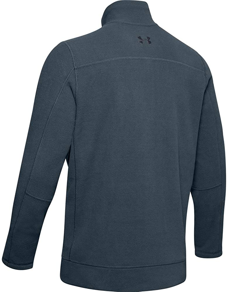 Under Armour Zephyr Fleece Solid ¼ Zip, Wire (073)/Black, Large