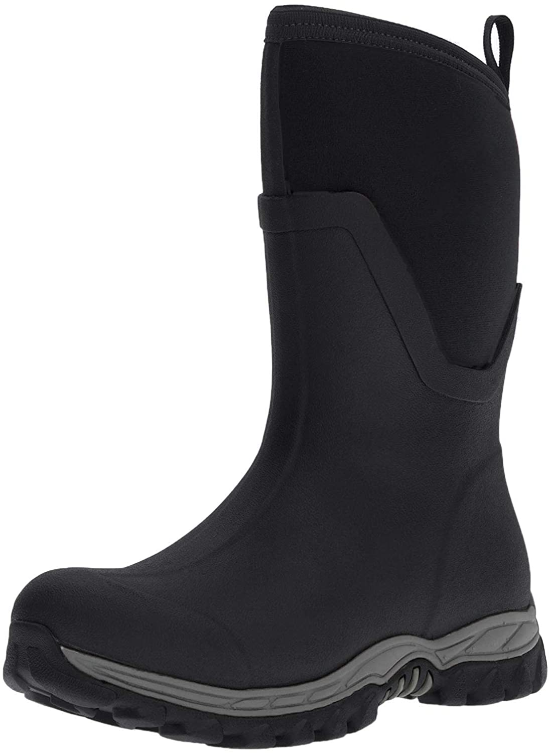 Muck Boot Arctic Sport II Extreme Conditions Mid-Height Rubber Women's Winter Boot, Black, 8 M US