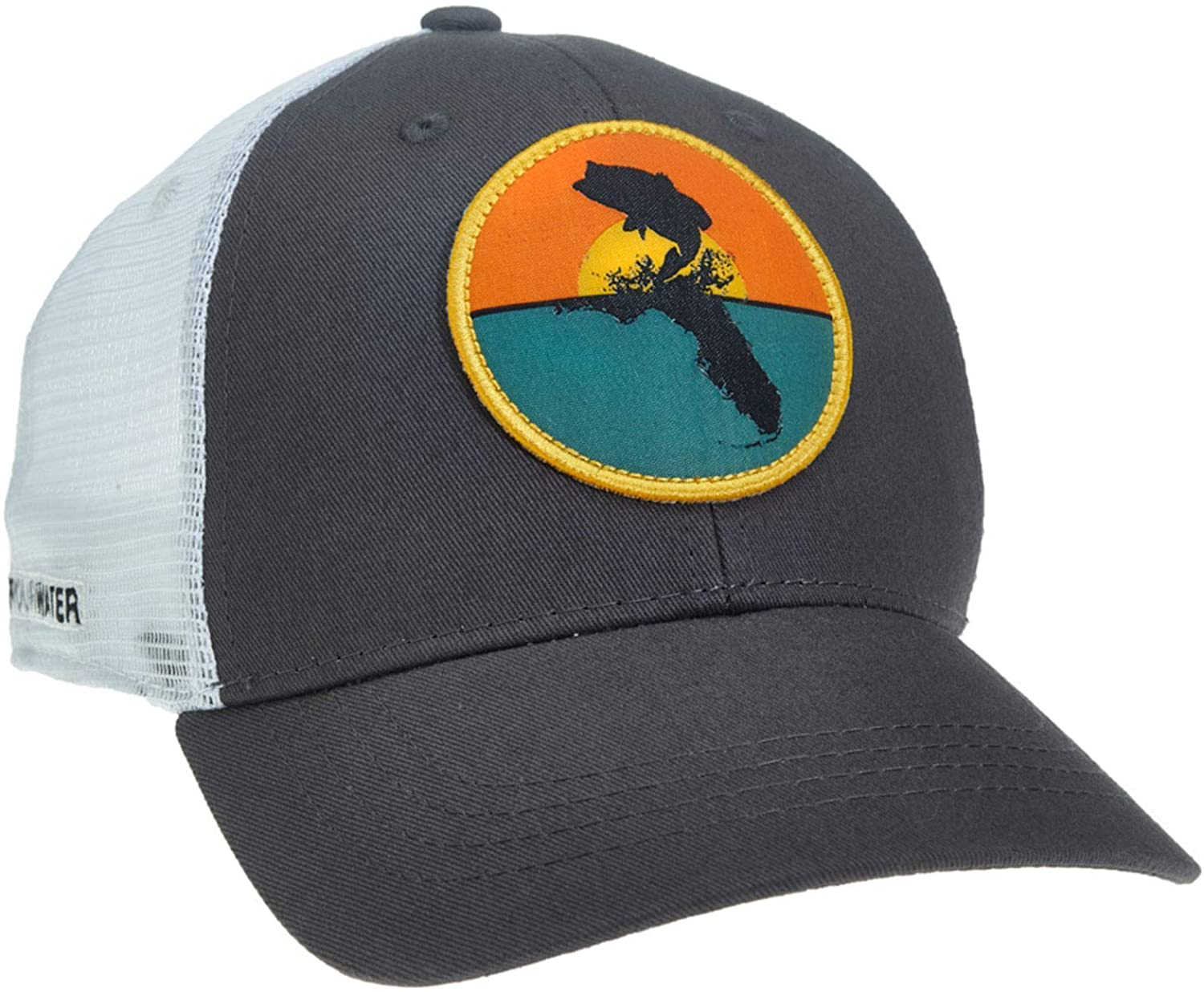RepYourWater Florida Bass 2.0 Hat Gray/White
