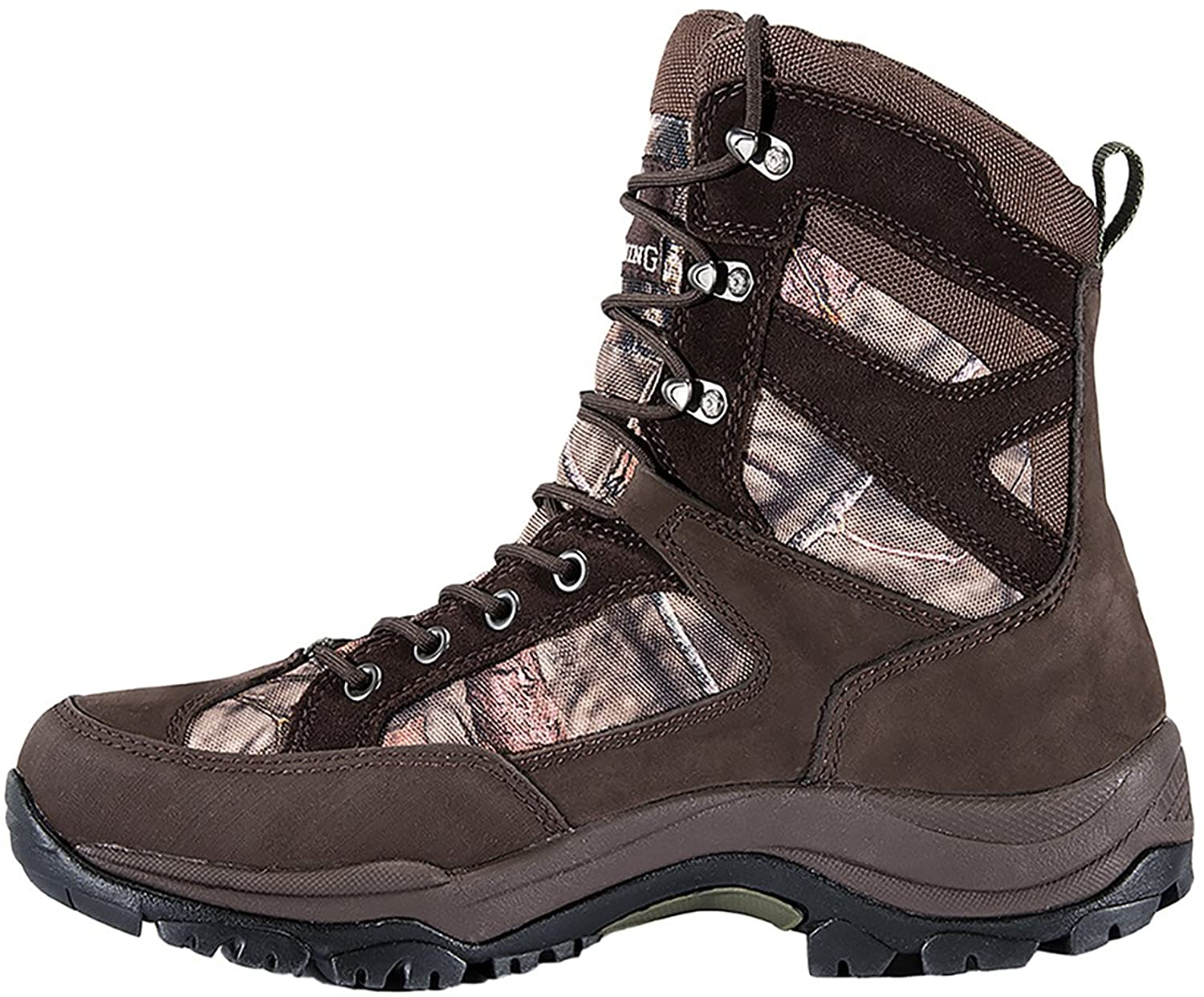 Browning Mens Buck Pursuit 8in Oxford Hunting Boots - 400g, Bracken/Mossy Oak F000005620236