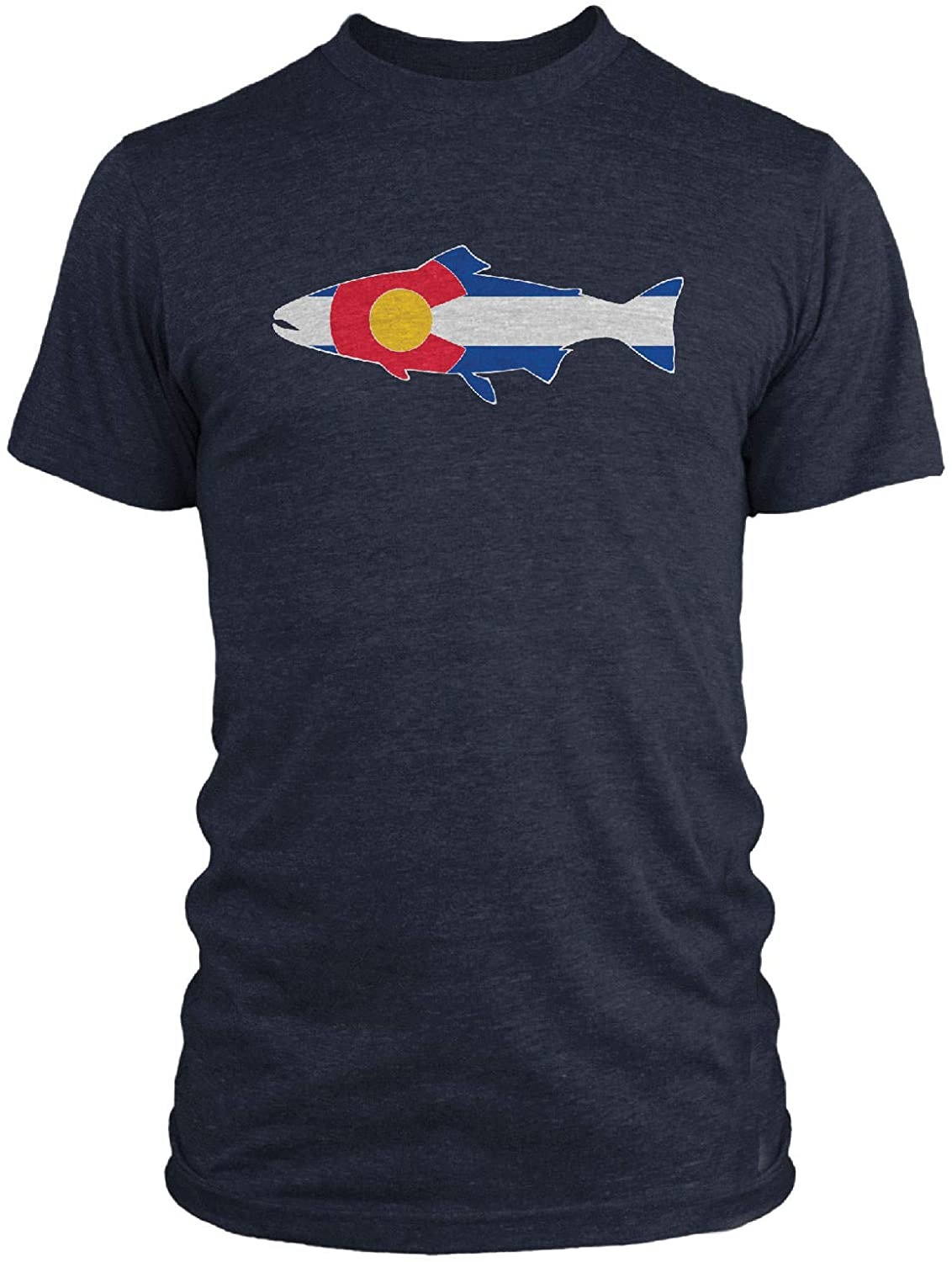 Rep Your Water Colorado Flag T-Shirt - XXLarge - Navy