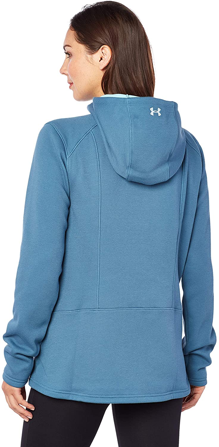 Under Armour Women's UA Seeker Hoodie LG Static Blue