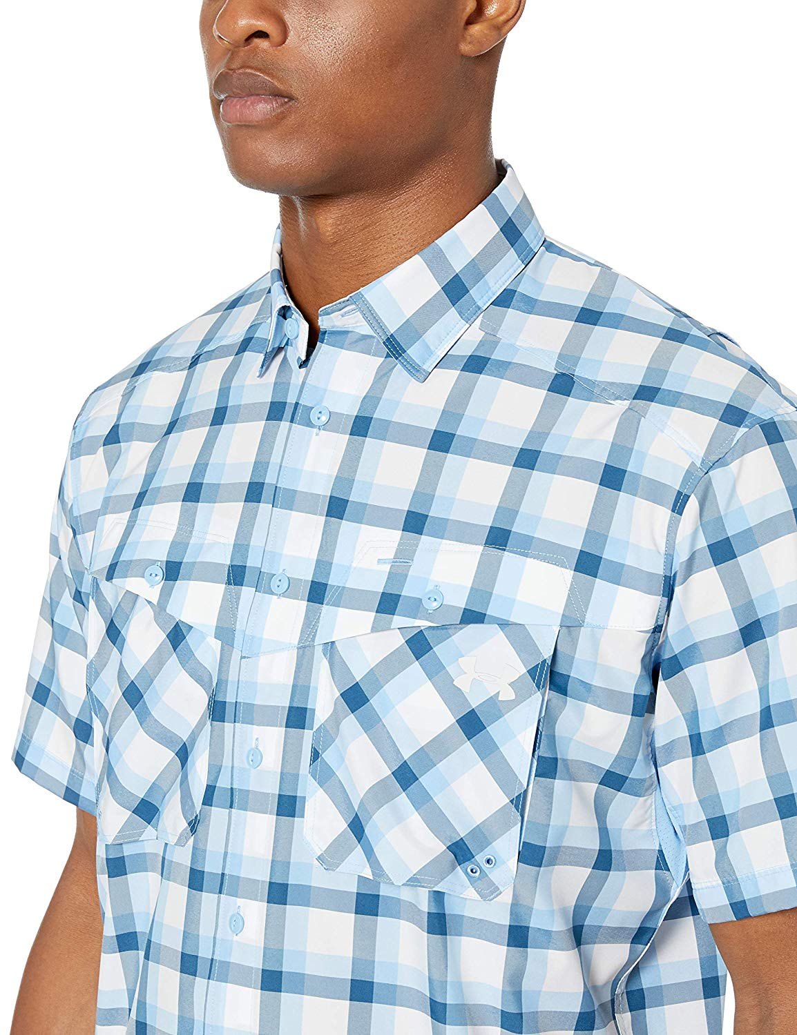 Under Armour Ua Tide Chaser Plaid Ss