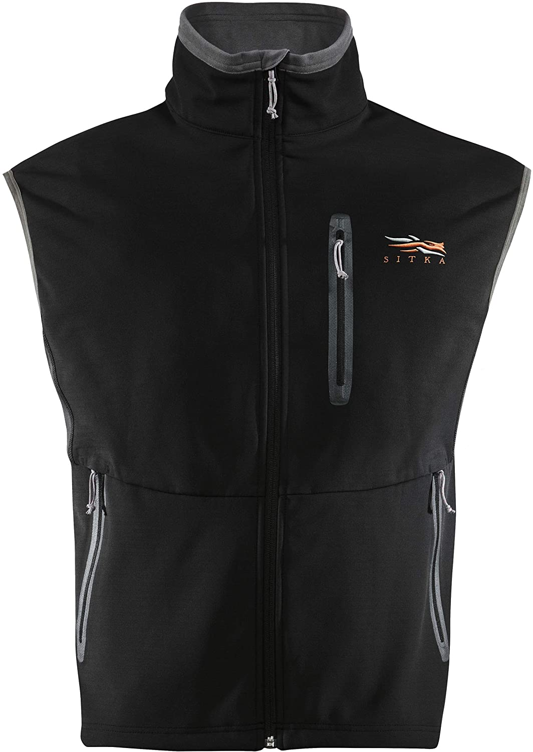 SITKA Gear Men's Jetstream Windstopper Water Repellent Hunting Vest, Black, XX-Large