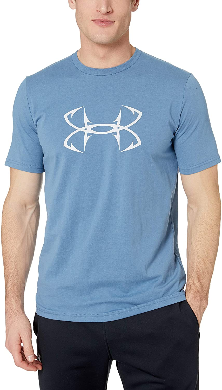Under Armour Men's Fish Hook Logo Short Sleeve