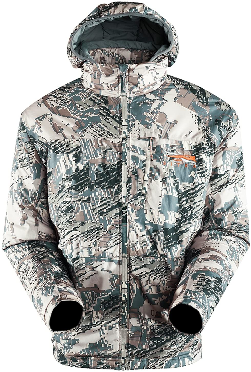 SITKA Gear Men's Kelvin Lite Hunting Hoody, Optifade Open Country, Large Tall