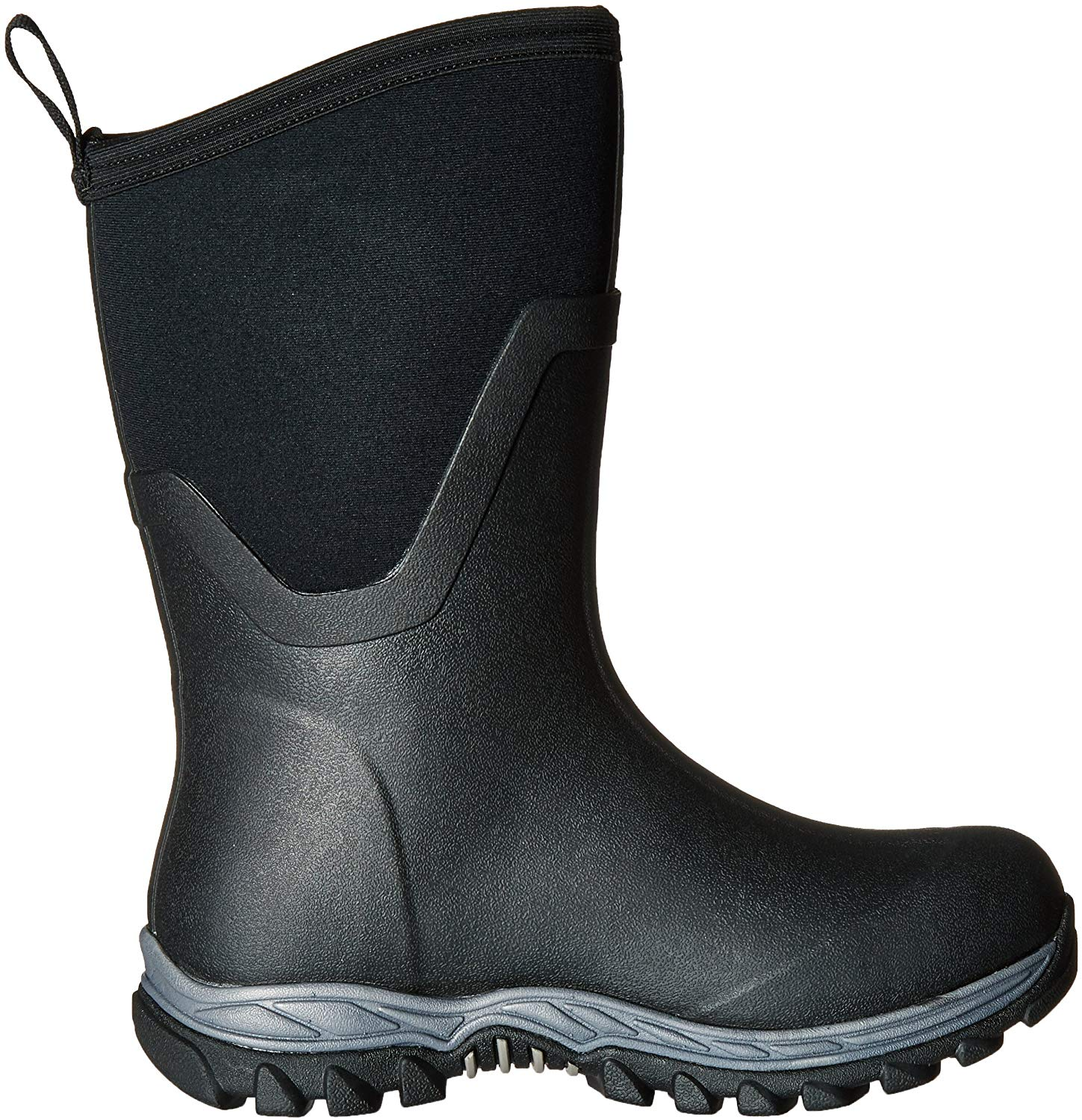 Muck Arctic Sport ll Extreme Conditions Mid-Height Rubber Women's Winter Boots, 7 M US, Black