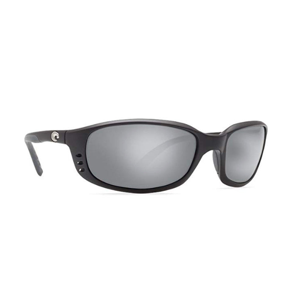 Costa Del Mar Sunglasses - Brine- Glass / Frame: Black Lens: Polarized Silver Mirror Wave 580 Glass