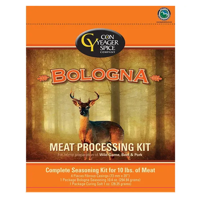 Con Yeager Spice Bologna Jerky Meat Processing Kit