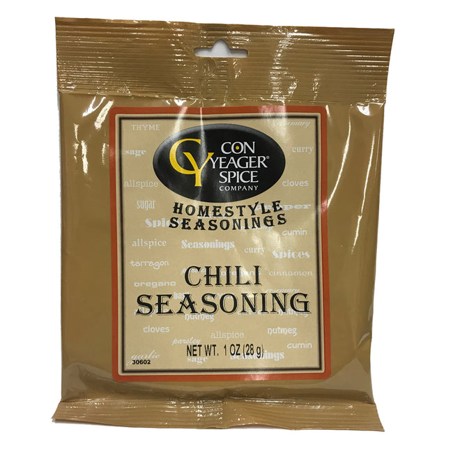 Con Yeager Spice Chili Seasoning 1oz