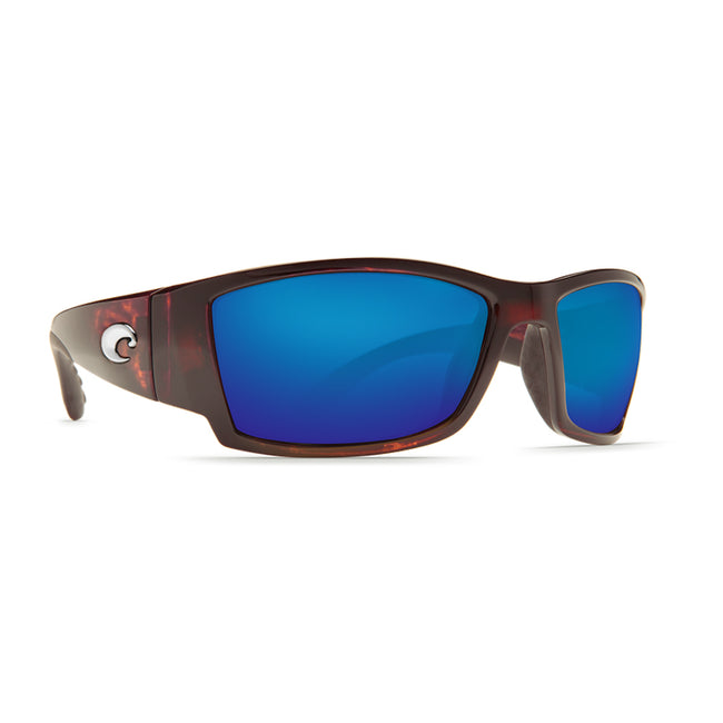 Costa Del Mar Corbina Sunglasses Tortoise Frame Blue Mirror 580P