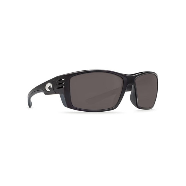 Costa Del Mar Cortez Sunglasses Black Gray Mirror 580P