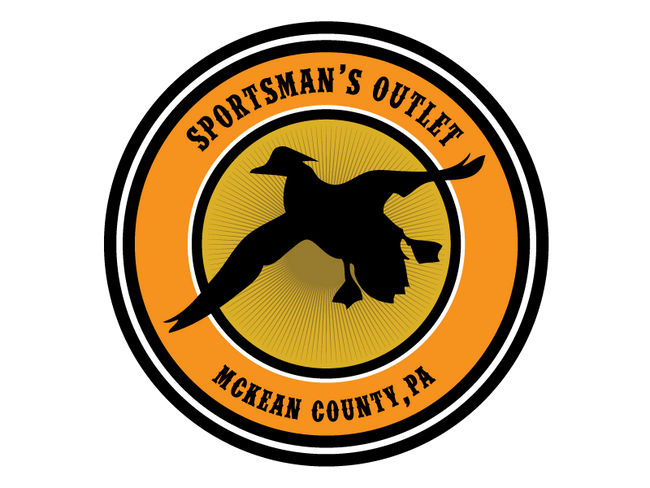 Sportsman's Outlet Circle Stickers