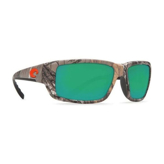 Costa Del Mar Fantail Sunglasses Realtree Xtra Camo Green Mirrored 400G